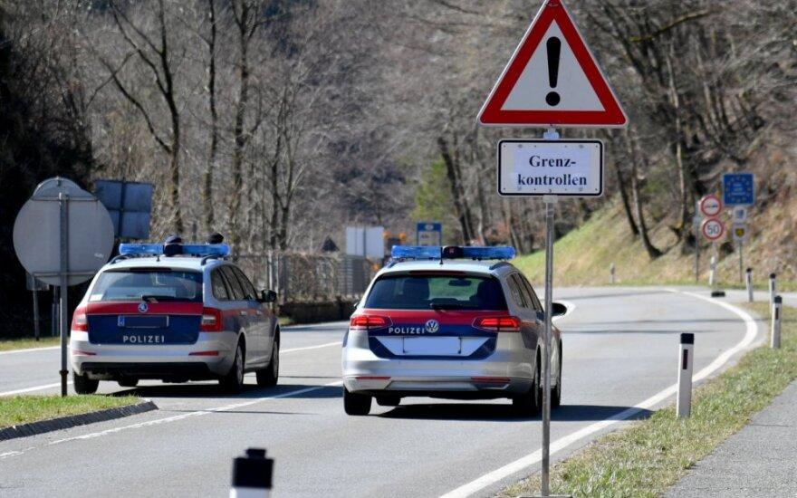Austrija ir Vokietija birželio viduryje planuoja atidaryti savo sieną