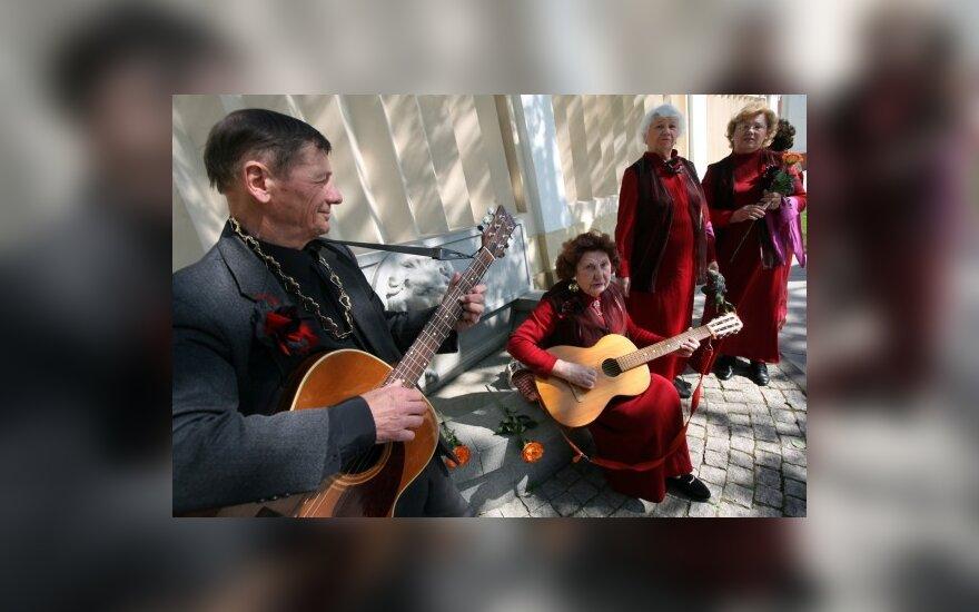 Vilniaus gatvėse skambėjo muzika
