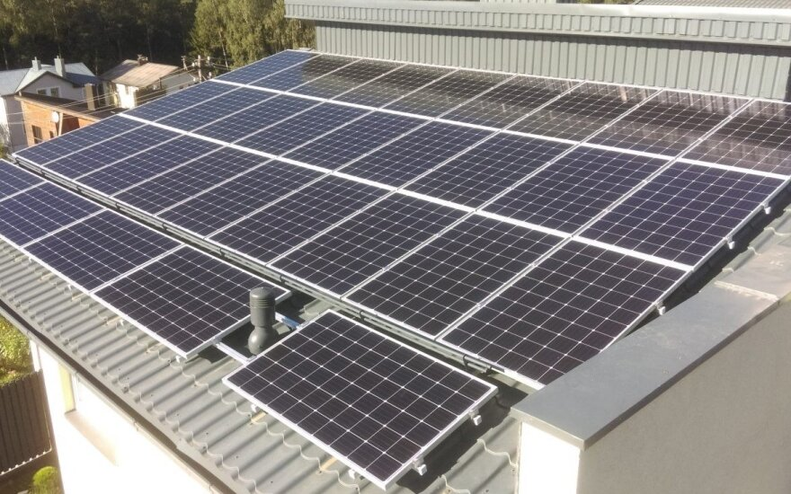 Saulės elektrinė Lietuvoje