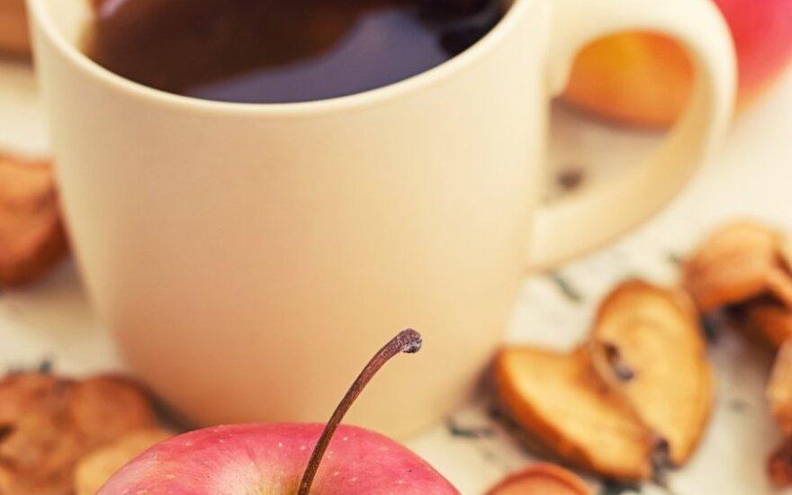 Džiovintų obuolių arbata