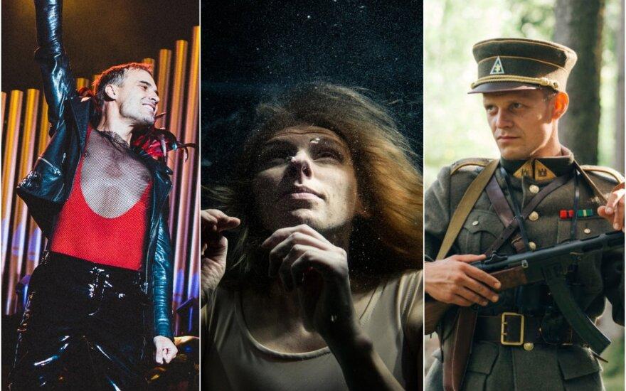 """""""Mantas: Rhapsody Recomposed"""", tiriamasis šokio spektaklis """"Apnea"""" ir dokumentinis filmas """"Partizanas"""""""