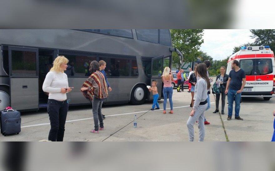 Vokietijoje įstrigę keleiviai iš Lietuvos