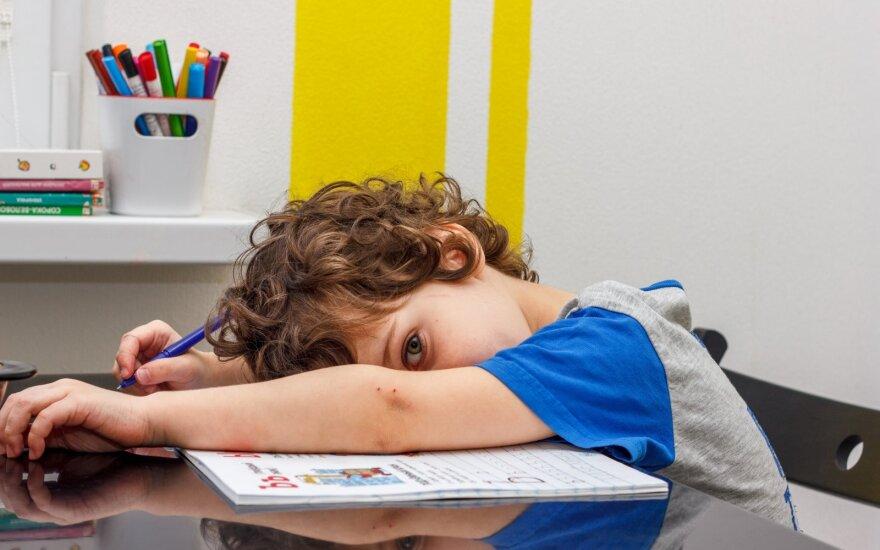 Pavargęs vaikas
