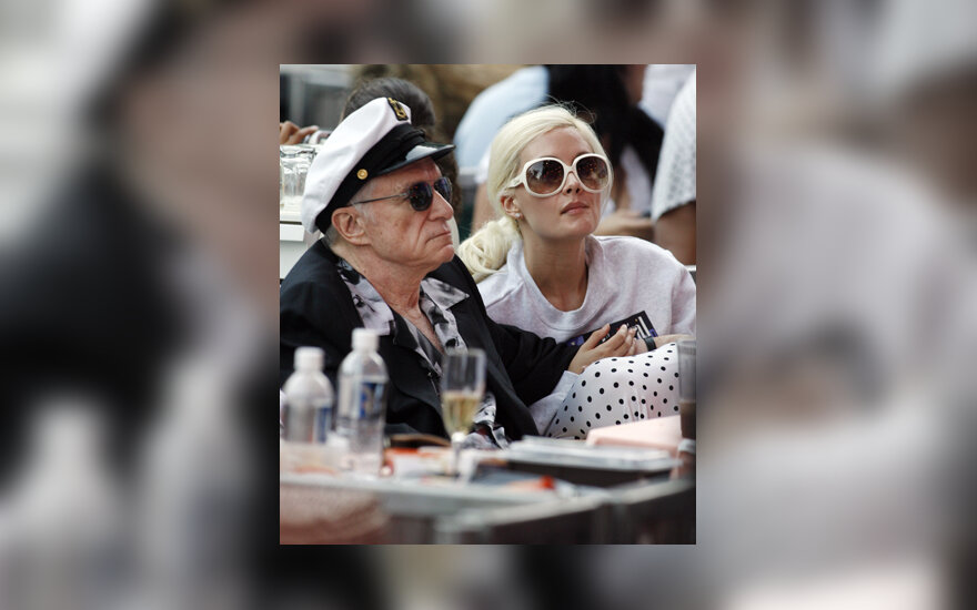 Hughas Hefneris ir Holly Madison