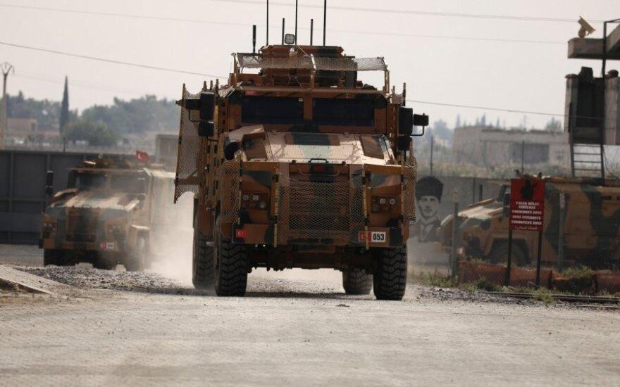 Turkija pradeda karinę operaciją prieš kurdus šalies rytuose ir Irako šiaurėje