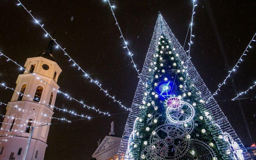 Sulaukus baltų Kalėdų suspaus šaltis – laukia dviženklis minusas