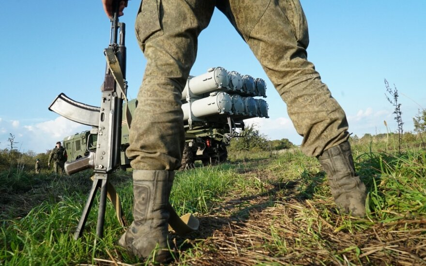 Putinas didina grėsmę Baltijos šalims