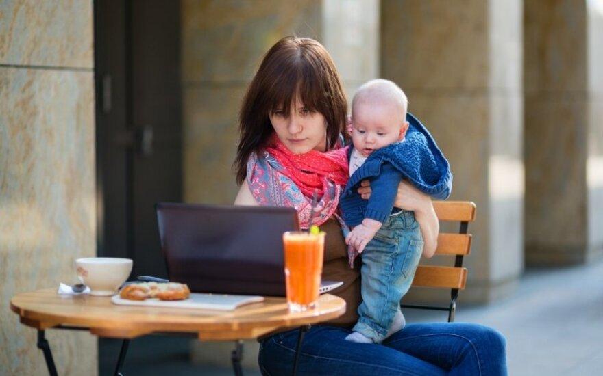 <em>Supermamų</em> užsipulta moteris išsakė savo požiūrį į motinystę