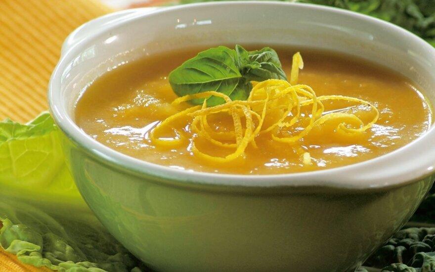 Trinta moliūgų sriuba su citrina