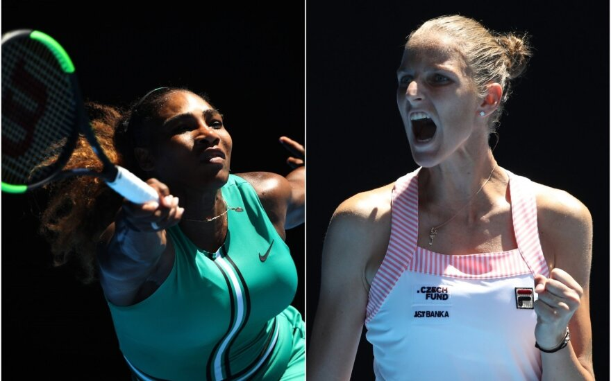 Serena Williams, Karolina Pliskova