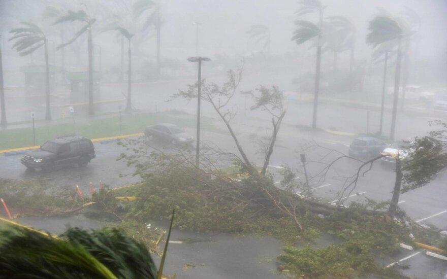 Audrų nuniokotam Puerto Rikui atsigauti trukdo skolų bagažas