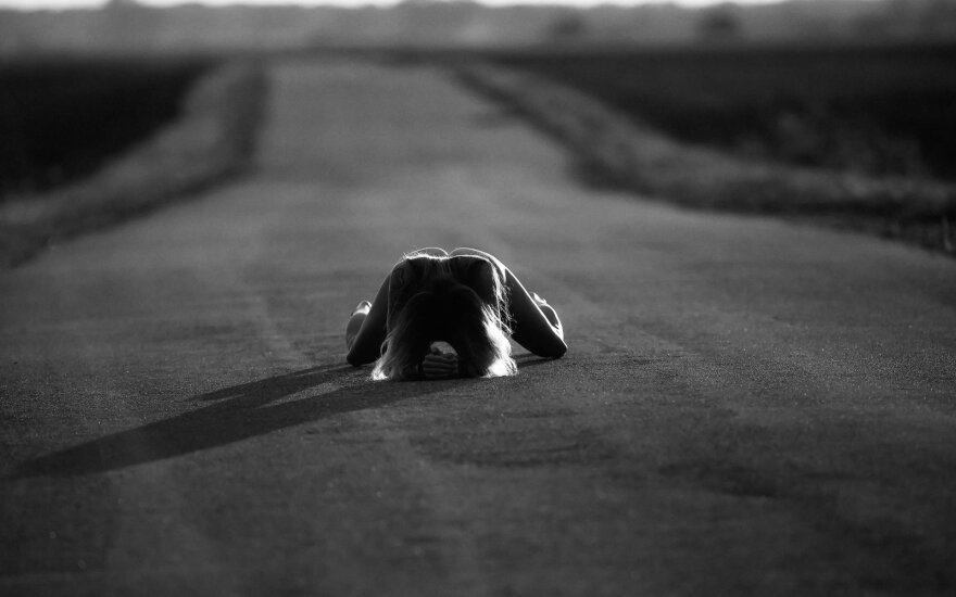 """Atidaryta Algimanto Barzdžiaus fotografijų paroda """"Matymai""""."""