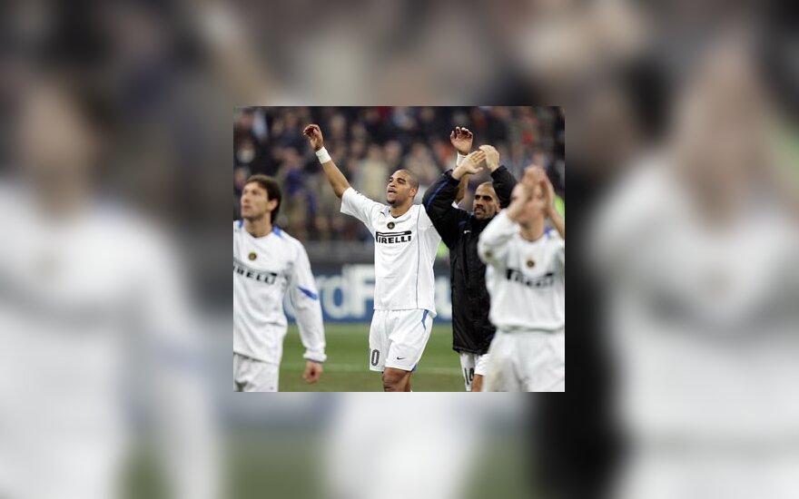 """Inter"" švenčia pergalę"