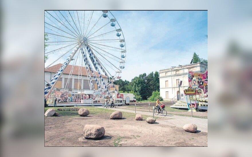 Olandiškas ratas Palangoje įsuko aistras