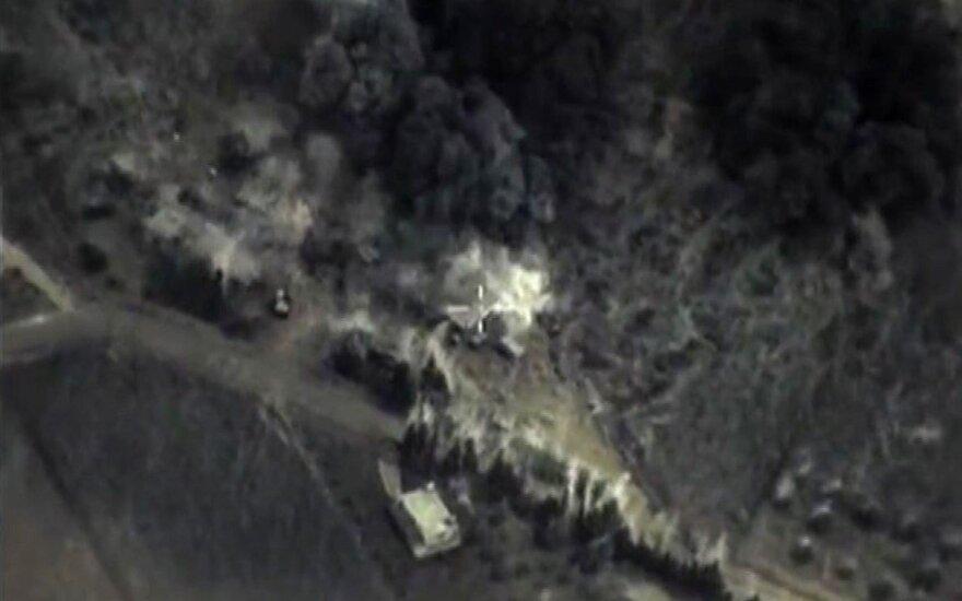 Maskva žada intensyvinti antskrydžius Sirijoje