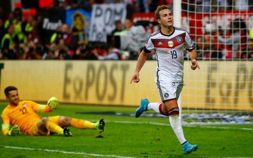Europos čempionato atranka: vokiečiai atkeršijo lenkams