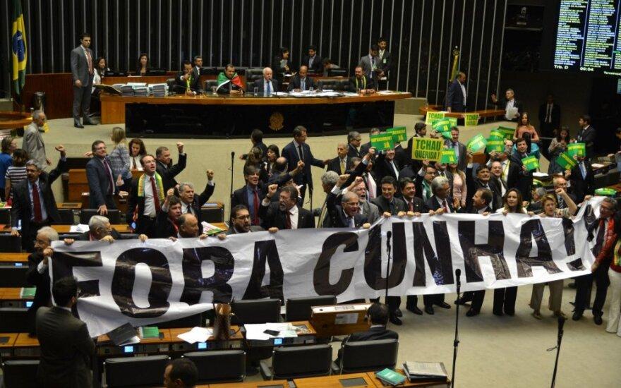 Brazilijoje sulaikytas buvęs Kongreso žemųjų rūmų pirmininkas