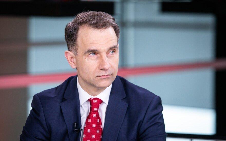 Masiulis apie baltarusiškų krovinių pervežimą per Latviją: tai normali verslo situacija