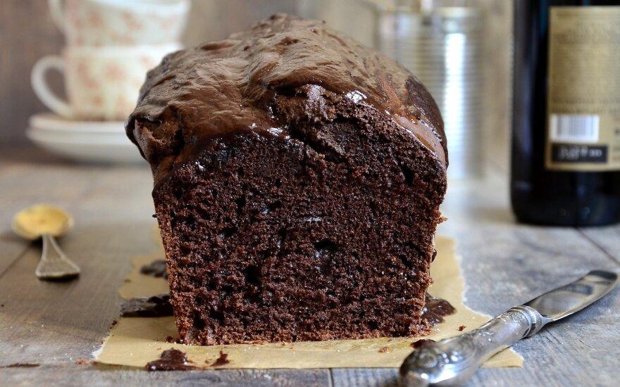 Šokoladinis pyragas su majonezu