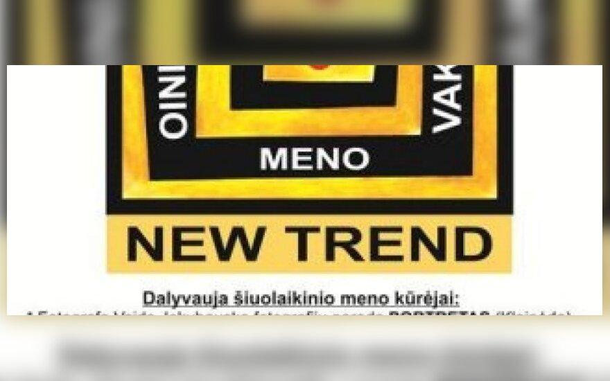 """Šiuolaikinio meno vakaras """"New Trend"""" – Plungės kultūros centre"""