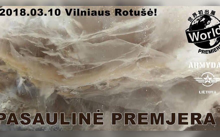 Pirmą kartą Lietuvoje gims čiobrelių ledo skulptūra