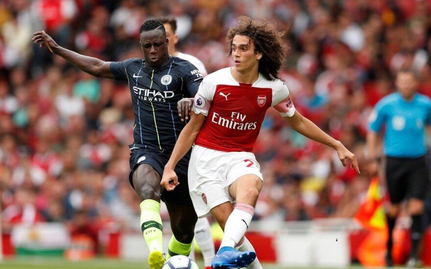 Manchester City ir Arsenal klubų akistata