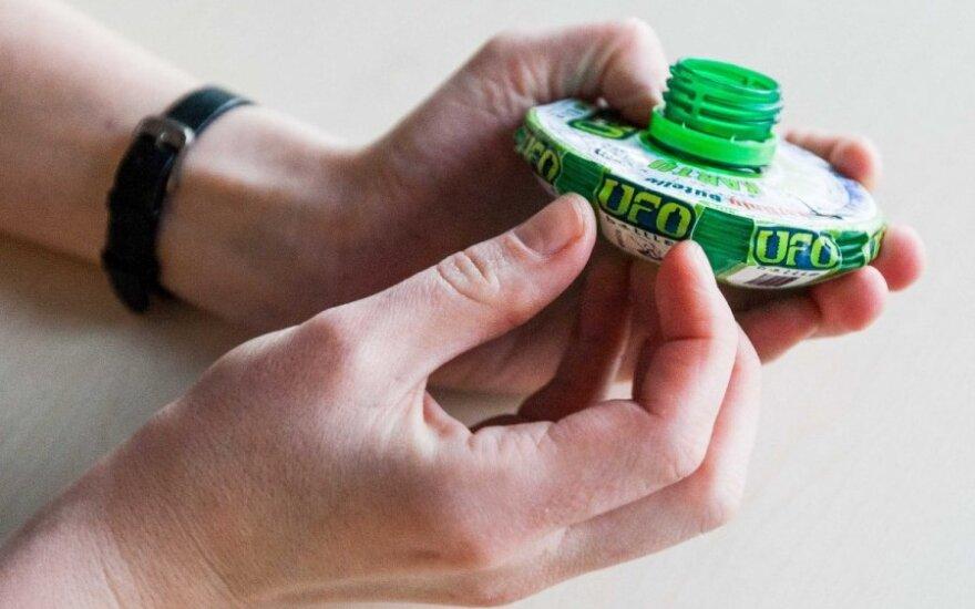 Lietuviškas daugkartinio naudojimo buteliukas – jau prekyboje