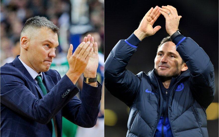 Šarūnas Jasikevičius, Frankas Lampardas