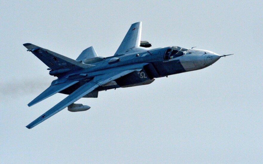 NATO oro policijos naikintuvai keturis kartus kilo lydėti virš Baltijos jūros skridusių orlaivių
