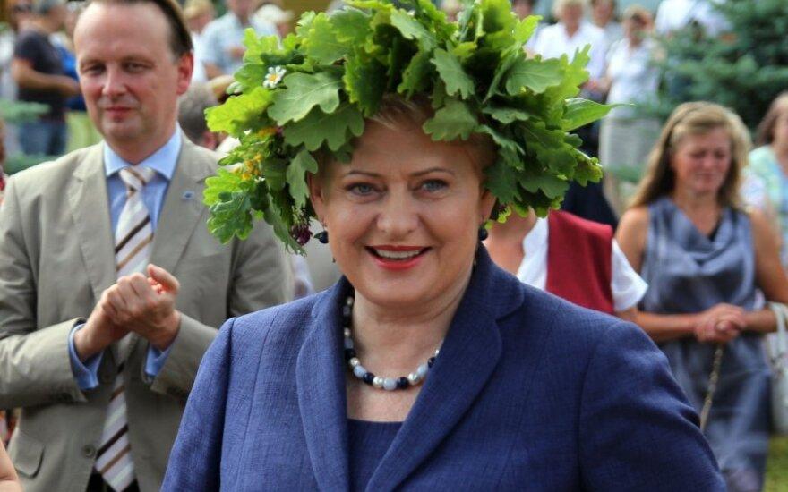 """""""Reuters"""": D.Grybauskaitė minima tarp kandidatų į Europos Komisijos vadovus"""