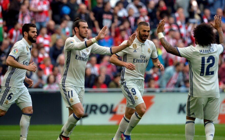 Primera lyga, Madrido Real išvykoje palaužė Bilbao Athletic