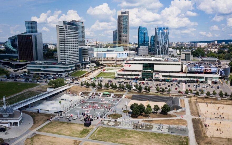 Prie Baltojo tilto oficialiai atidarytas sporto aikštynas