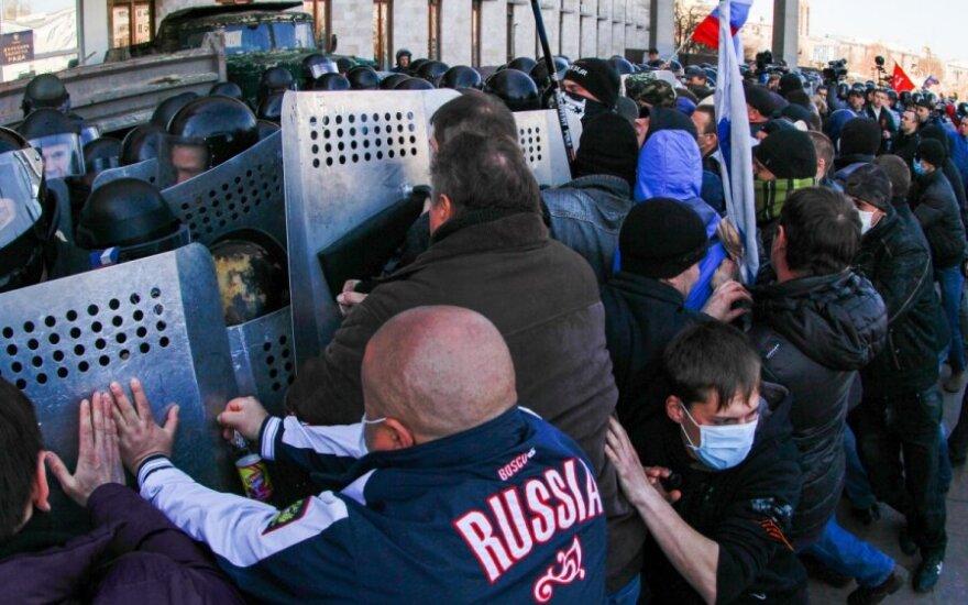 Nikolajeve separatistai užpuolė žurnalistą