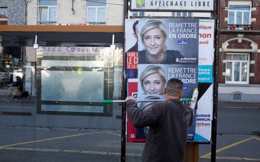 Marine Le Pen agitacija