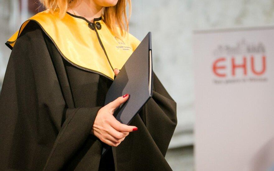 Vyriausybė rengiasi suteikti specialų statusą Europos humanitariniam universitetui