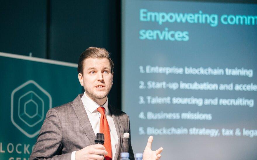 Blockchain Centre Vilnius CEO Justas Šireika