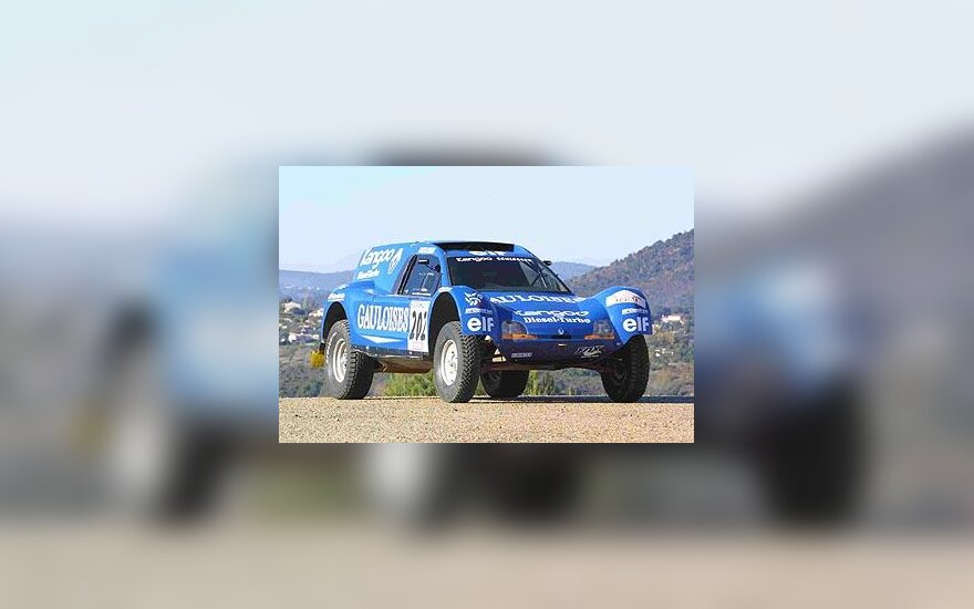 """Renault Kangoo Buggy Diesel Turbo"" automobilis"
