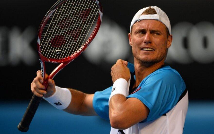 ATP turnyro Memfyje aštuntfinalyje – L. Hewitto ir I. Karlovičiaus pergalės