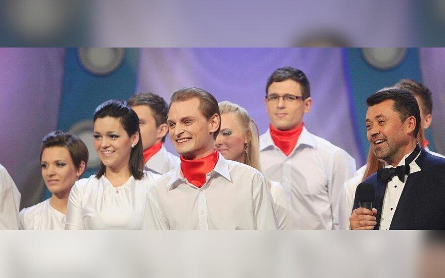 Liudas Mikalauskas ir Raudonasis Tauragės choras