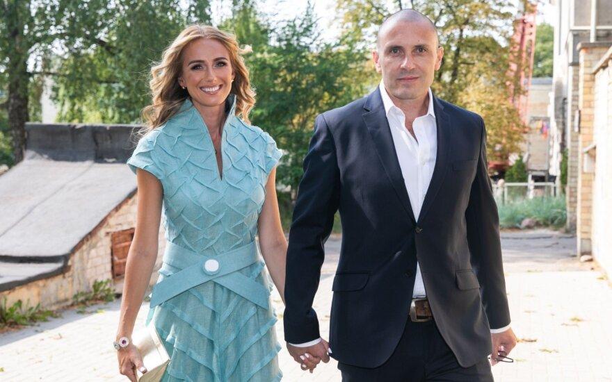 Violeta Repčenkaitė su vyru