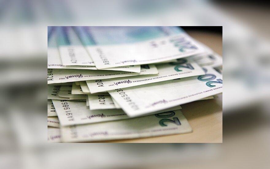 Gyventojai iš valstybės nepasiėmė apie 104 mln. Lt