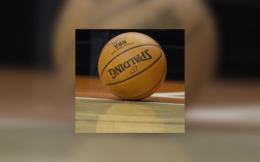 "Oficialus NBA lygos odinis ""Spalding"" firmos kamuolys"