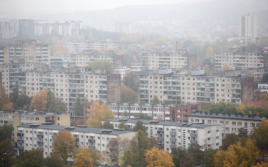 Rents in Vilnius grow faster than income