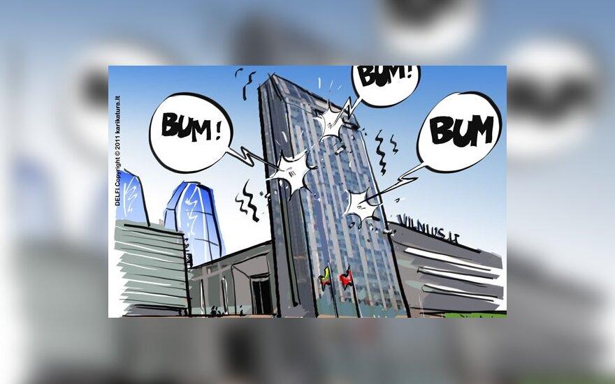 Ekonomistai: Vilnius gali bankrutuoti