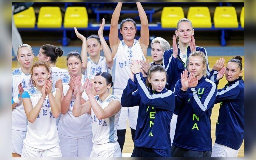 Utenos moterų krepšinio komanda.