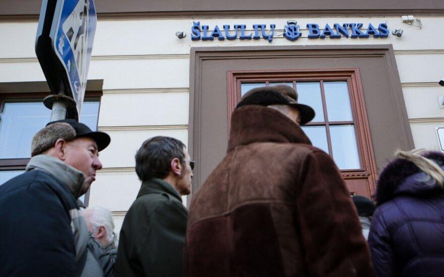 Šiaulių bankas baigė paslaugų atnaujinimą buvusiems Ūkio banko klientams