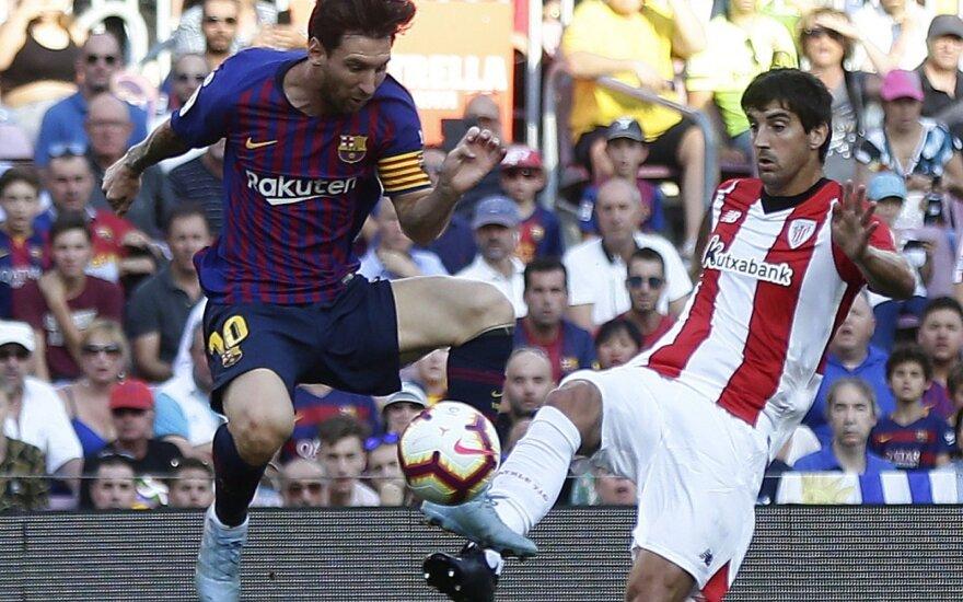 Lionelis Messi ir Mikelis San Jose