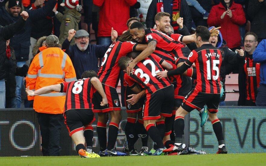 """AFC Bournemouth"" futbolininkų triumfas"