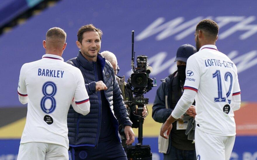 Chelsea treneris Frankas Lampardas
