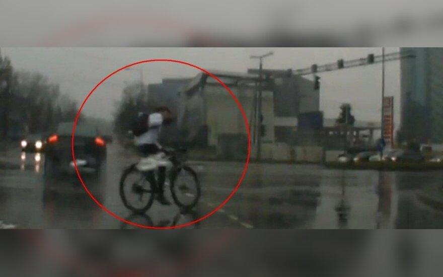 Nemandagus dviratininkas